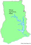 Location of Mole National Park