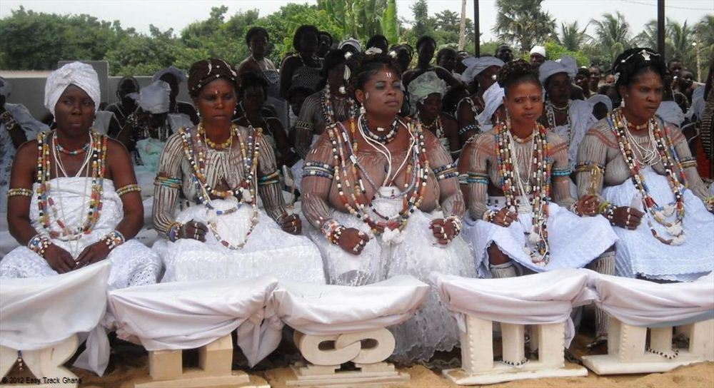 Traditional ceremony in Ghana
