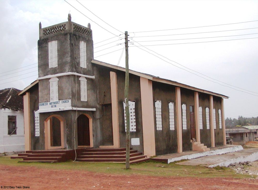 Methodist chuck in Ghana