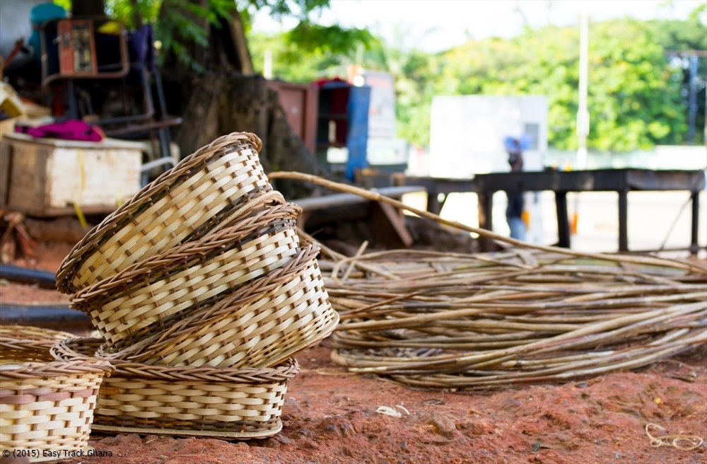 db0599b9483 Hand crafted African baskets in Ghana