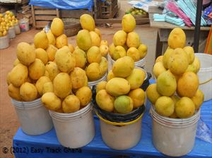 baskets of mango