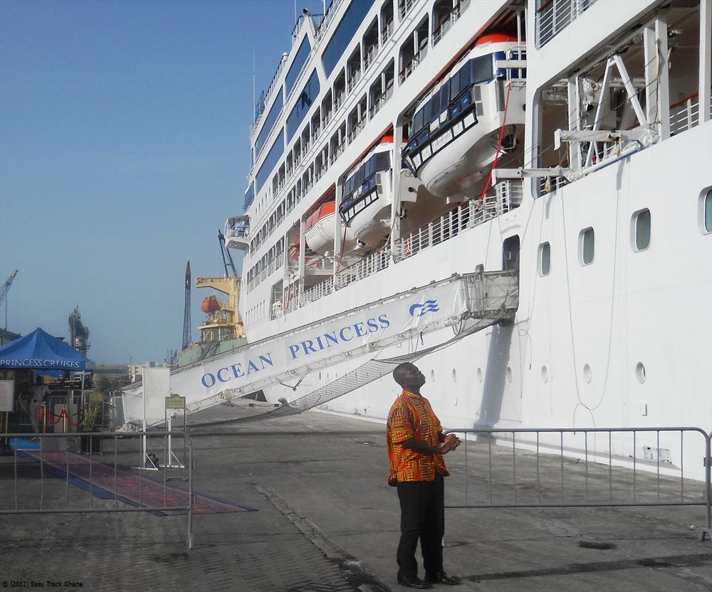 Passenger ship pick-up