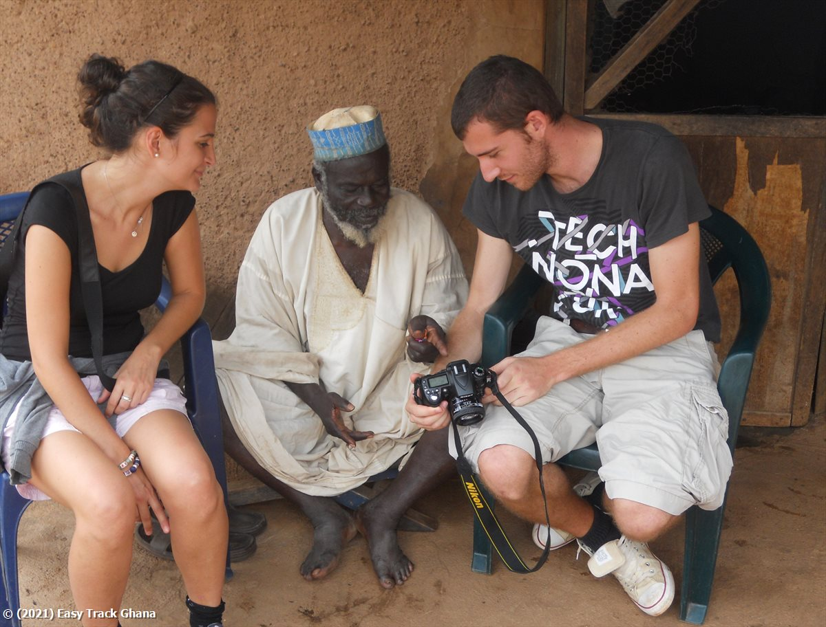 Sharing a photo taken in Ghana
