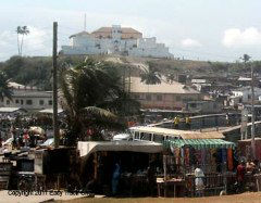 Ft. San Jago in Elmina