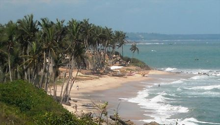 Fantastic beaches in Ghana