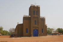 Navrongo Catholic cathedral in Ghana