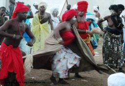 Traditional dancing